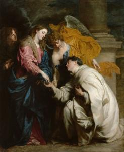 A visão do Beato Hermano José, de Anthony van Dyck